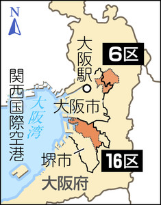 選挙 区 候補 者 大阪