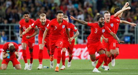 コロンビア1―1イングランド イン...