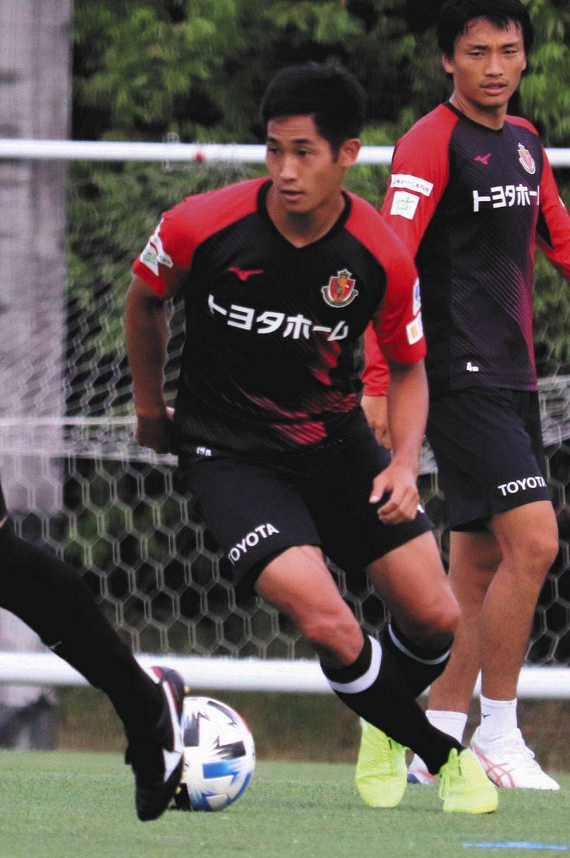 名古屋グランパスのMF青木亮太がJ2大宮に期限付き移籍…生え抜き ...