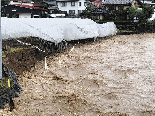 床上浸水、4市町で72棟 県内豪雨影響まとめ :中日新聞Web