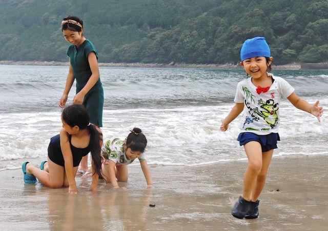 尾鷲・三木里海水浴場が海開き:中日新聞Web