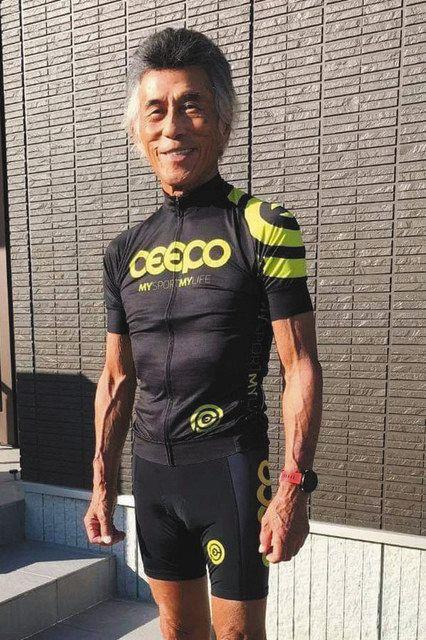 <あすに向かって> 人生初のトライアスロンへ・佐藤良治さん(82)=大津市