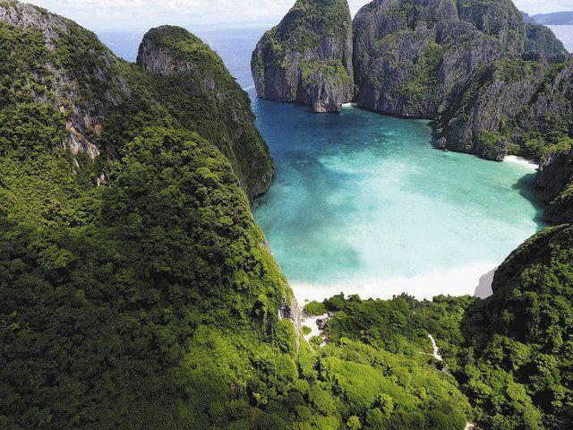観光客減、タイの海再生 コロナ余波、共生考える契機に