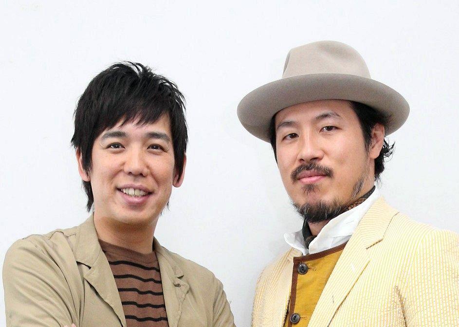 スキマスイッチの大橋卓弥(左)と常田真太郎