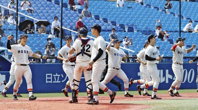 東京六大学野球秋季リーグの優勝は春季と同じく勝率制で1942年以来の2 ...