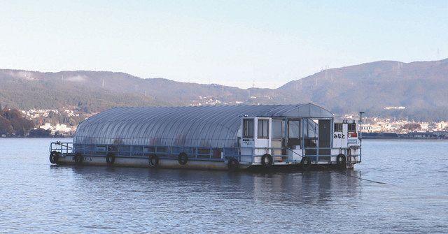諏訪 湖 ワカサギ 釣り