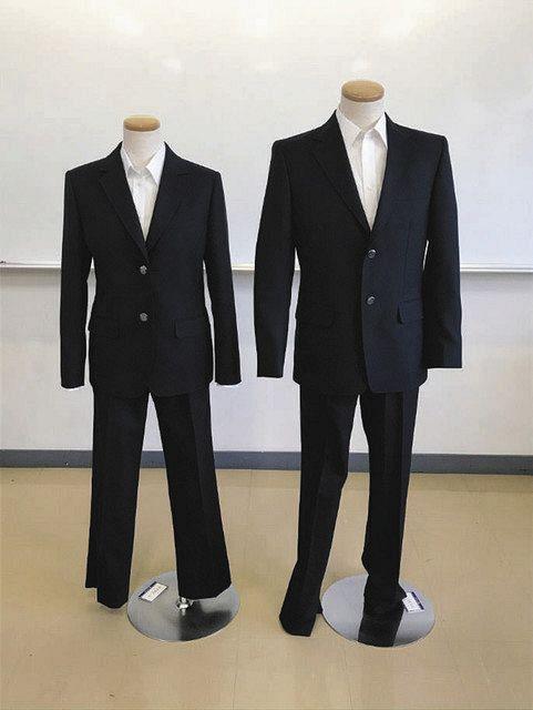 来年4月から導入する男女共通の制服