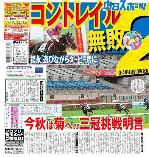 東京 中 日 スポーツ
