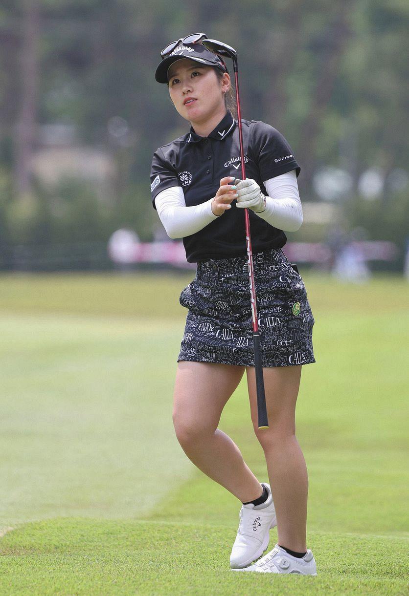 西村 優菜 ゴルフ