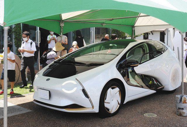 LQ en exhibición en Toyota Ecoful Town = Motoshiro-cho, Toyota City
