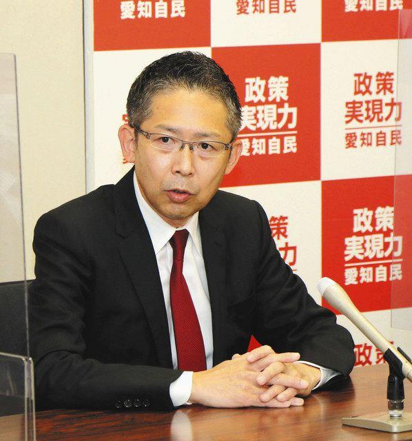 愛知2区出馬予定、自民・中川氏が会見 次期衆院選:中日新聞Web