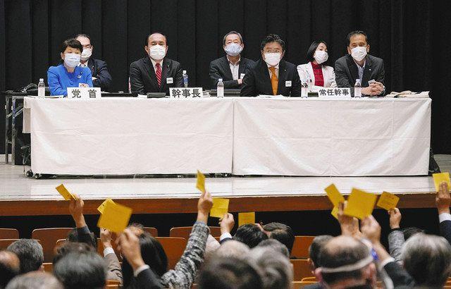 社民分裂、決定的 立民との合流容認、国会議員は福島党首のみ:中日新聞Web