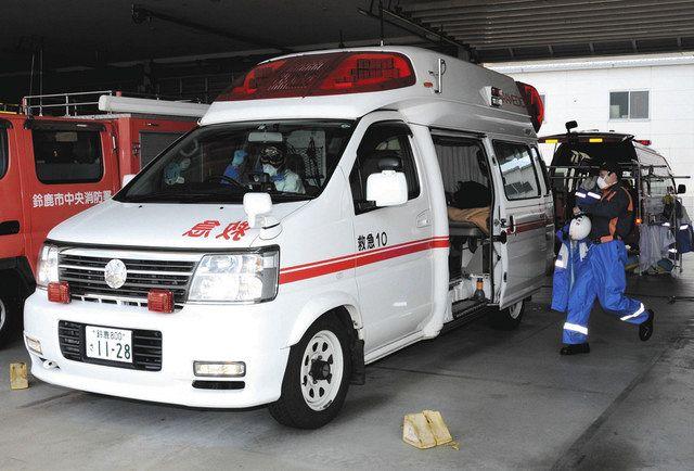 消防の救急出動が大幅減少 昨年の鈴鹿、19年比8・5%減:中日新聞Web