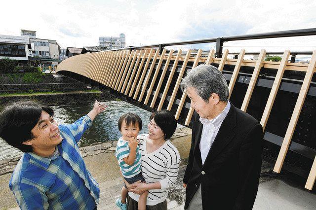 高山、念願の「宮川人道橋(仮称)」完成へ 5日に記念セレモニー:中 ...