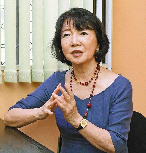 土曜訪問> 高樹のぶ子さん(作家):中日新聞Web