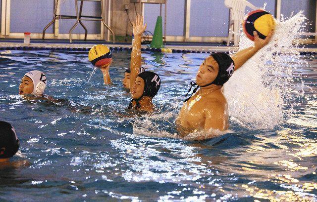 「国体の世代」切り替え再出発、初の日本選手権 四日市中央工業高水球部