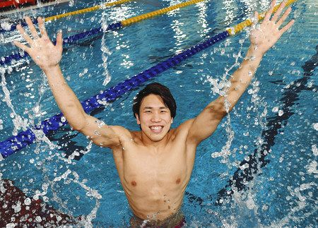 競泳]男子期待の星・松元克央を直撃! カツオは東京で世界の頂点を狙う:中日スポーツ・東京中日スポーツ