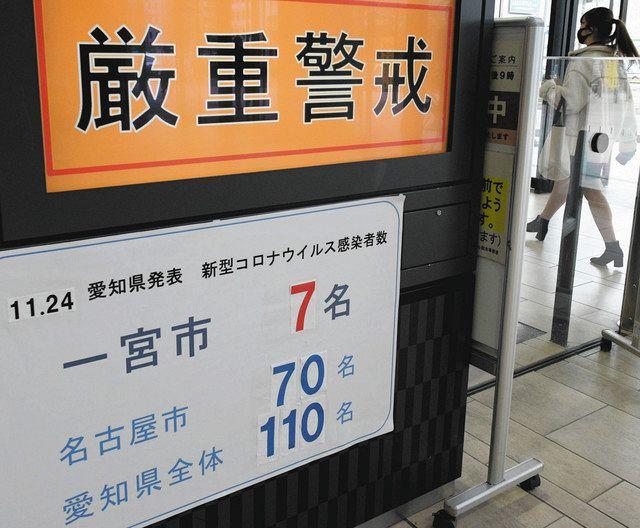 新型 コロナ ウイルス 愛知 県 感染 者 数