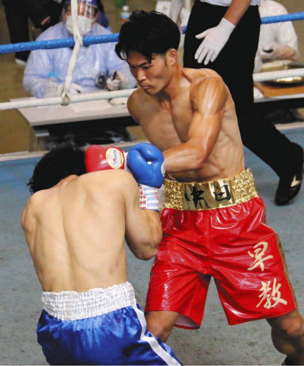 父は元ドラゴンズ選手 ボクシングの早川教文がKO勝ちデビュー「まずは ...