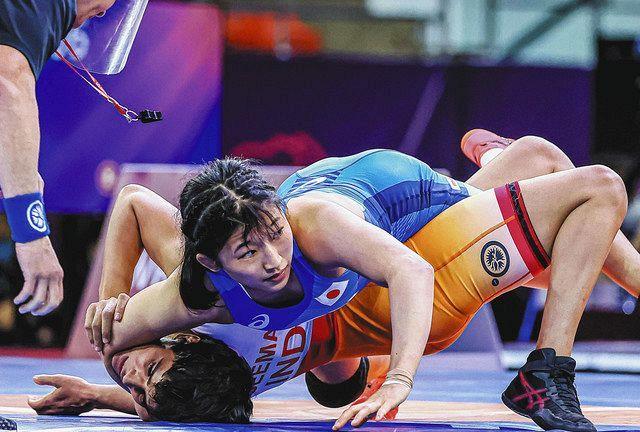 須崎、初の五輪 レスリング女子50キロ級