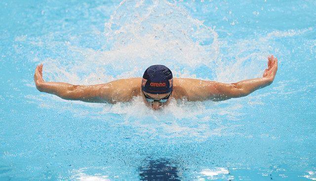 競泳 水沼・川本 初の五輪切符 難波と小堀800自も代表