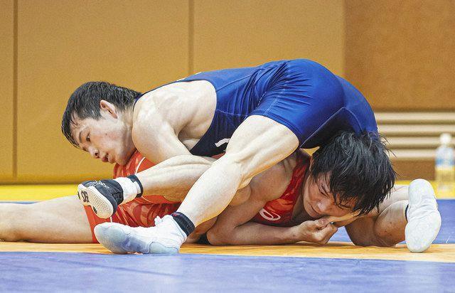 レスリング 高橋侑、初の五輪切符 男子五輪代表決定PO