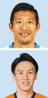 J2磐田 DF大井、栃木・矢野とマッチアップ