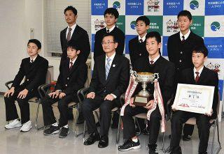 県中学駅伝、浜松の中学が男女でV 7年ぶりの快挙報告