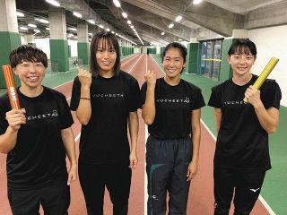 女子400リレーユティック準優勝 全日本実業団対抗陸上 男子100岩崎3位
