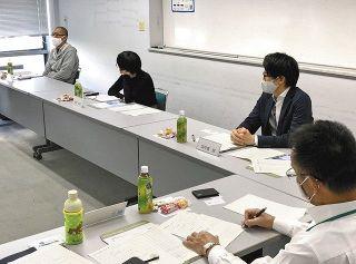 住みたい掛川へ 移住者らが市役所で座談会