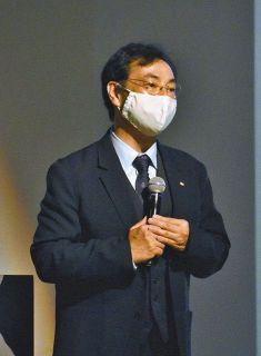 浜松城「家康の城造り原点」 千田教授が講演