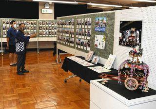 遠州地方の祭り屋台約570台 掛川で写真展