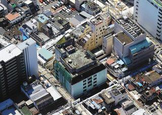 旧長崎屋跡地を広場に活用 岐阜市 建物撤去し整備へ