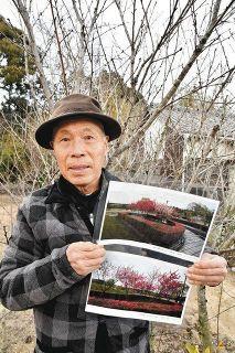 被災地にハナモモ贈り実を結ぶ 浜松の天野さん