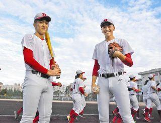北陸高の双子・矢納兄弟 亡き母と約束 絶対甲子園へ あすから北信越高校野球 1年生 主軸を担う