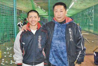 叔父の監督と挑む甲子園  敦賀気比の東鉄心選手