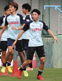 J2磐田 栄光の「7番」輝く時 MF上原、全試合で先発