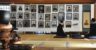 仏教の世界、遺影に見る 浜松・瑞雲寺で写真展