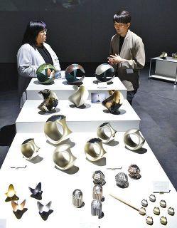 【富山】高岡銅器に新たな息吹 中村製作所 新ブランド「ifuki」