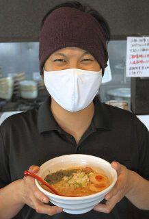 半額ラーメン 笑顔いっぱい 小松の「若」13種価格変更 店主・青木さん「一人でも多くの人に」