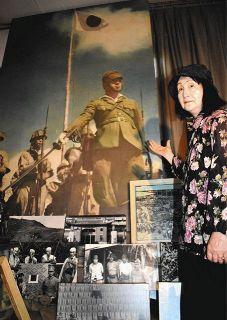 従軍写真家・故柳田芙美緒さん 護国記念館で最後の個展