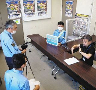 【石川】歩行者 耳が不自由かも 事故減へ金沢西署が動画