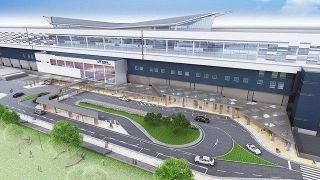 敦賀駅東口完成予想図 市が公開