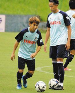 J2磐田 MF金子に高まる期待 前節、移籍後初得点