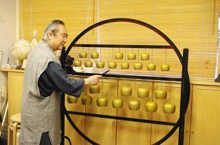 【富山】高岡おりん 映画に響く 山田洋次監督「キネマの神様」