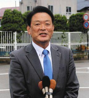 「豊かさ実感できる街に」 七尾市長初当選の茶谷さん