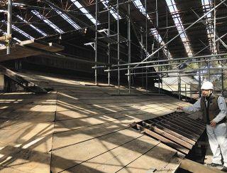 掛川の山崎家旧宅「松ケ岡」 大規模修復へ調査
