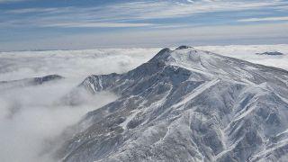 白山や立山で初冠雪を観測