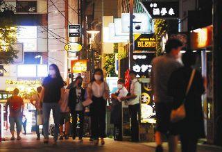 浜松の夜再び悲鳴 飲食店でクラスター疑い