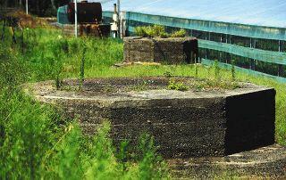 戦後75年爪痕 掛川の遠江射場に砲台三つ